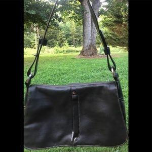 Mondani New York pebbled leather purse